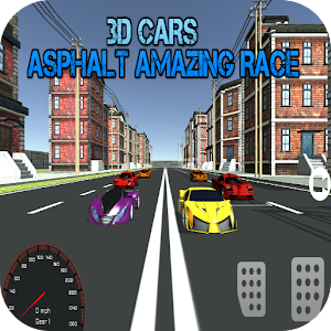 3D Cars : Asphalt Amazing Race
