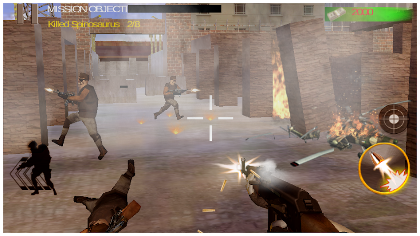 android Death Clash War Zone Mission Screenshot 1