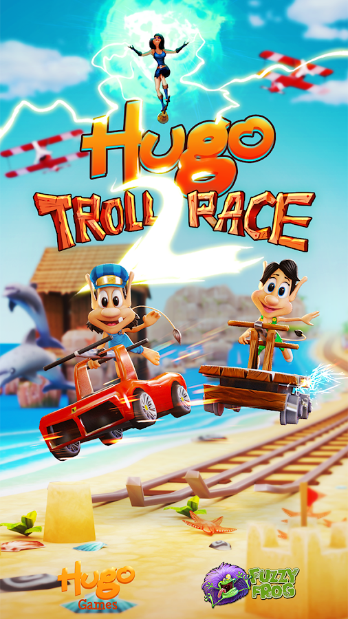 Hugo Troll Race 2. Screenshot 0