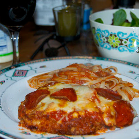 Chicken Parmesan with Pepperoni
