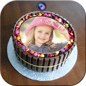 Birthday Cake Photo Frames