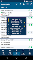 Screenshot of Bundesliga Pro
