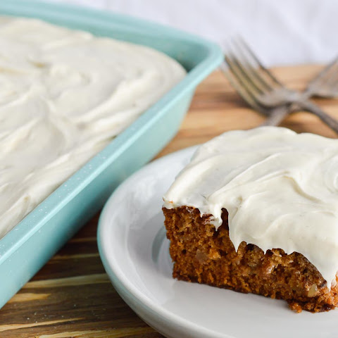 Easy Apple Cake with Cream Cheese Frosting
