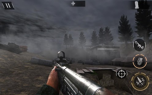 World War 2 Battleground Survival Winter Shooter