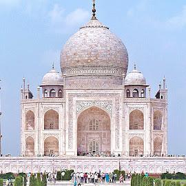 Ah! Taj... by Pradeep Kumar - Buildings & Architecture Public & Historical