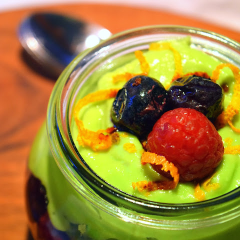 Berry Avocado Trifle