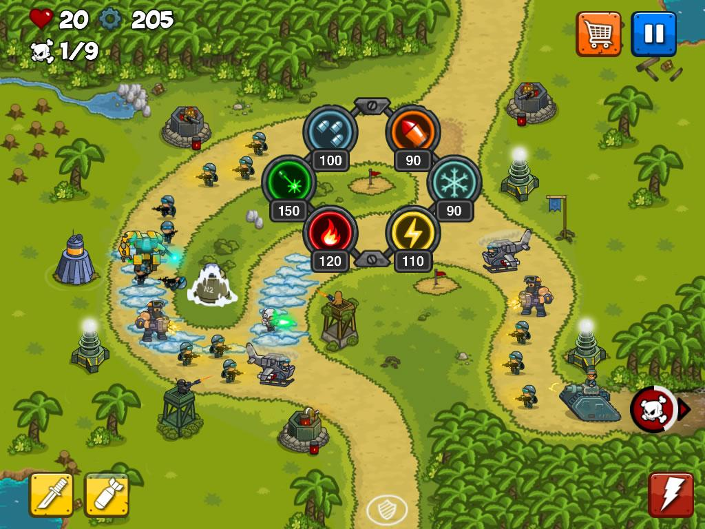 Combat Tower Defense Screenshot 12