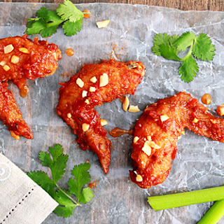 Thai Spicy Chicken Wings (Peek Gai Nam Daeng)