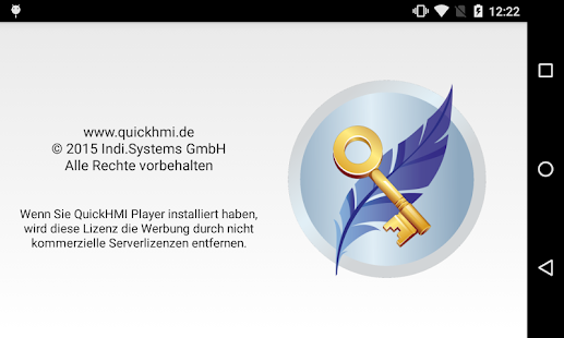 QuickHMI Player Pro License - screenshot