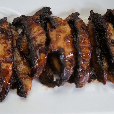 Grilled Chili Portobello Mushrooms with Oyster Sauce