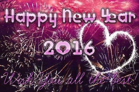 android Happy New year 2016 Wishes Screenshot 3
