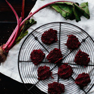 Beetroot Coconut Sugar Cookies