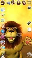 Screenshot of Talking Luis Lion
