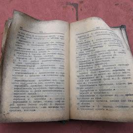 Книга by Georgi Kolev - Artistic Objects Other Objects ( букви., ден., редове., светлина., книга. )