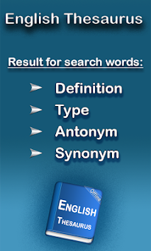 English Thesaurus By EagleInc Thesaurus APK screenshot thumbnail 1