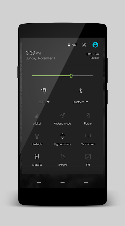 Volt - Layers Theme Screenshot 2