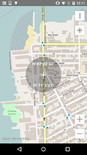 MapsOn: Offline Map Screenshot