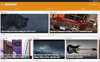 Screenshot of Appy Gamer – Games news