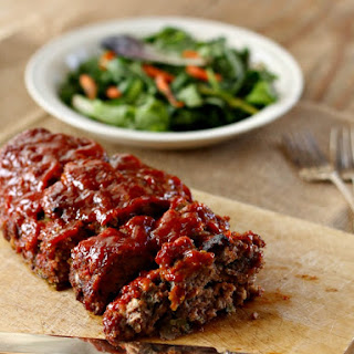 Homestyle Meatloaf with Brown Sugar Glaze