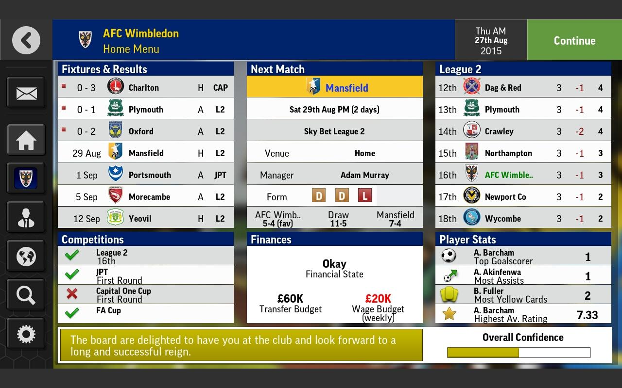 Football Manager Mobile 2016 Screenshot 9