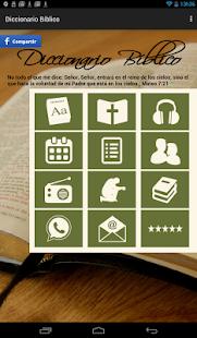 Diccionario Bíblico en Español APK for iPhone