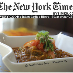 We are thrilled with the review in The New York Times Restaurant Review: The Seductive Spices and Aromas of India at Indigo Indian Bistro - Manchester CT By RAND RICHARDS COOPER http://goo.gl/VLALuX