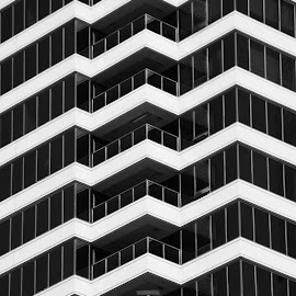 by Parker Heath - Buildings & Architecture Architectural Detail ( abstract, building, black and white, lines, repetition )
