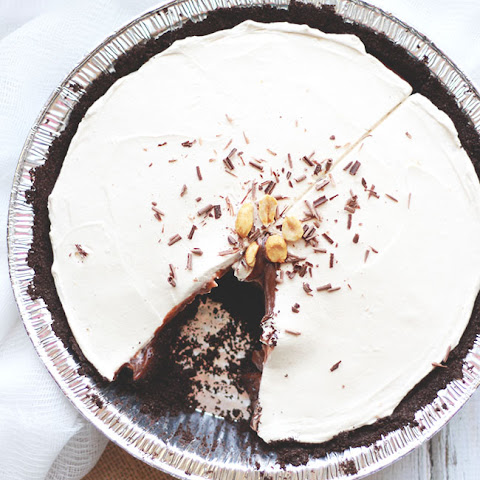 Peanut Butter Oreo Pie