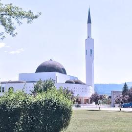 Mosque in Bugojno by Alesanko Rodriguez - Buildings & Architecture Public & Historical ( urban, building, europe, season, colorful, balkan, mosque, summer, architecture, travel )