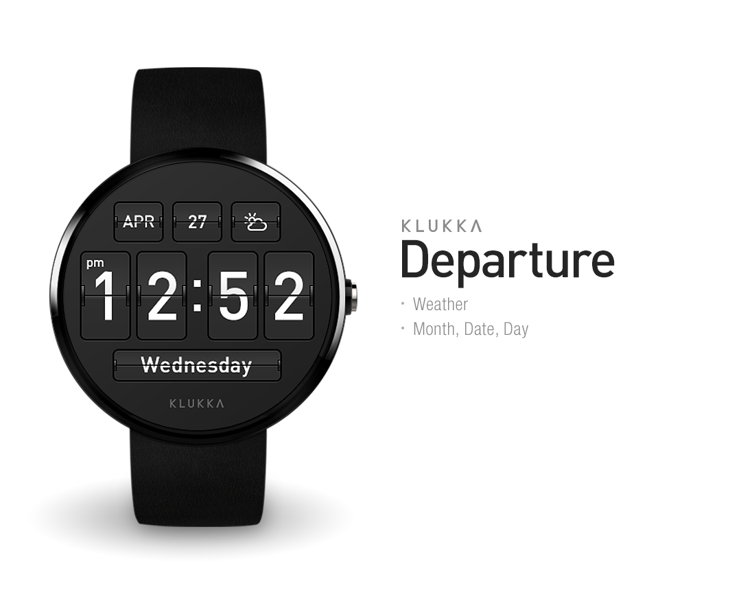 Departure Watchface by Klukka Screenshot 3