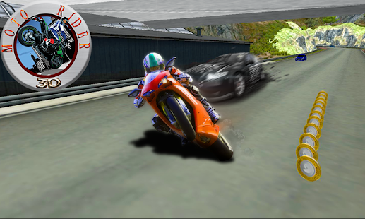 Moto Rider 3D - screenshot