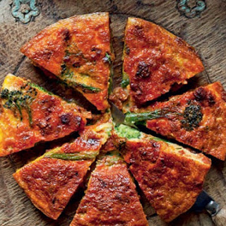 Chorizo And Sprouting Broccoli Frittata