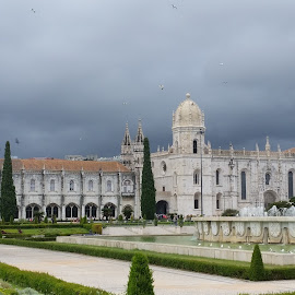 Jerónimos Monastery by Paul Gallaher - Buildings & Architecture Places of Worship