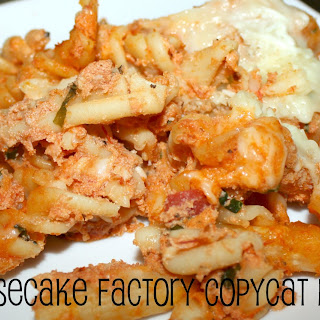 Cheesecake Factory Pasta Recipes