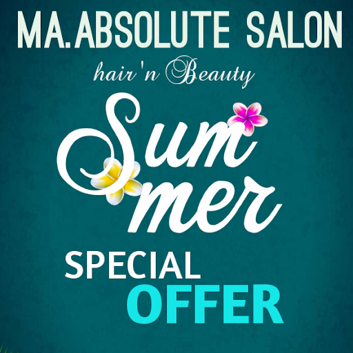 Ma Absolute Salon, Singasandra, Singasandra logo