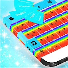Keyboard Cute Rainbow