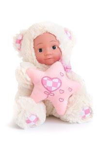 """Кукла """"Anna De Wailly"""" Медвежонок со звездочкой 20см"""