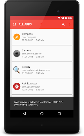 android APK Extractor Screenshot 6