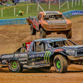 Father and Son by Kenton Knutson - Sports & Fitness Motorsports ( trucks, offroad, racing, dirt )