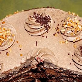 Chocolate cake by Ingrid Anderson-Riley - Food & Drink Cooking & Baking