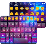 Color Galaxy Emoji Keyboard 1.5 Apk