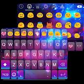 Download Color Galaxy Emoji Keyboard APK for Laptop