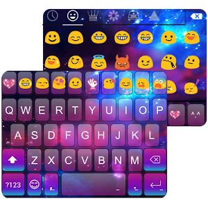 Color Galaxy Emoji Keyboard