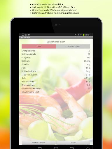 Ernährung Pro - screenshot