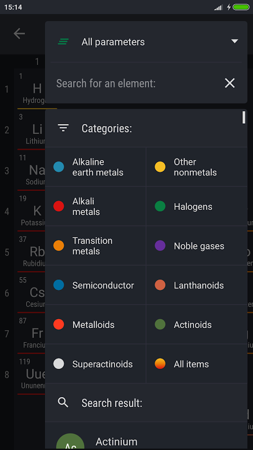 Periodic table 2018 pro apk cracked free download cracked periodic table 2018 pro screenshot 5 urtaz Gallery