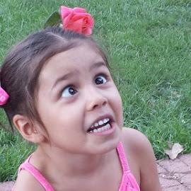 Silly girl! by Arlita Baptista - Babies & Children Children Candids