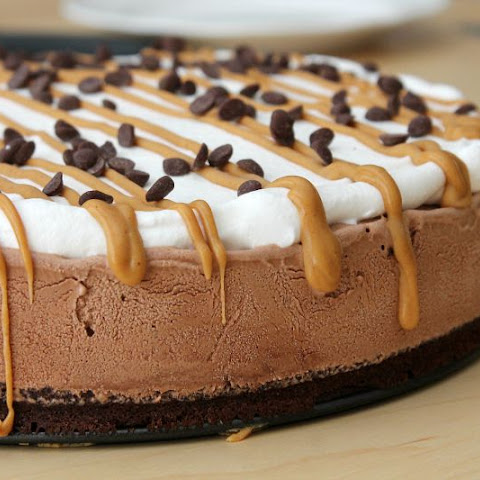 Peanut Butter Brownie Ice Cream Cake