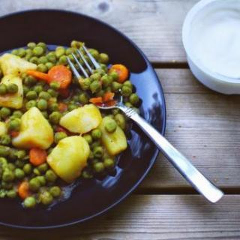 Peas with Potatoes and Carrots