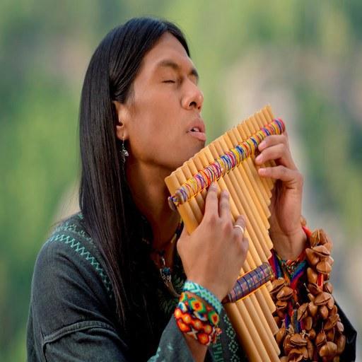 Native American flute music (app)