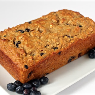 Whole Grain Blueberry Yogurt Bread